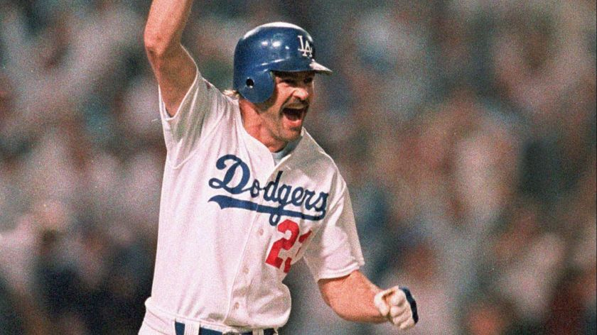 Kirk Gibson Round the Bases