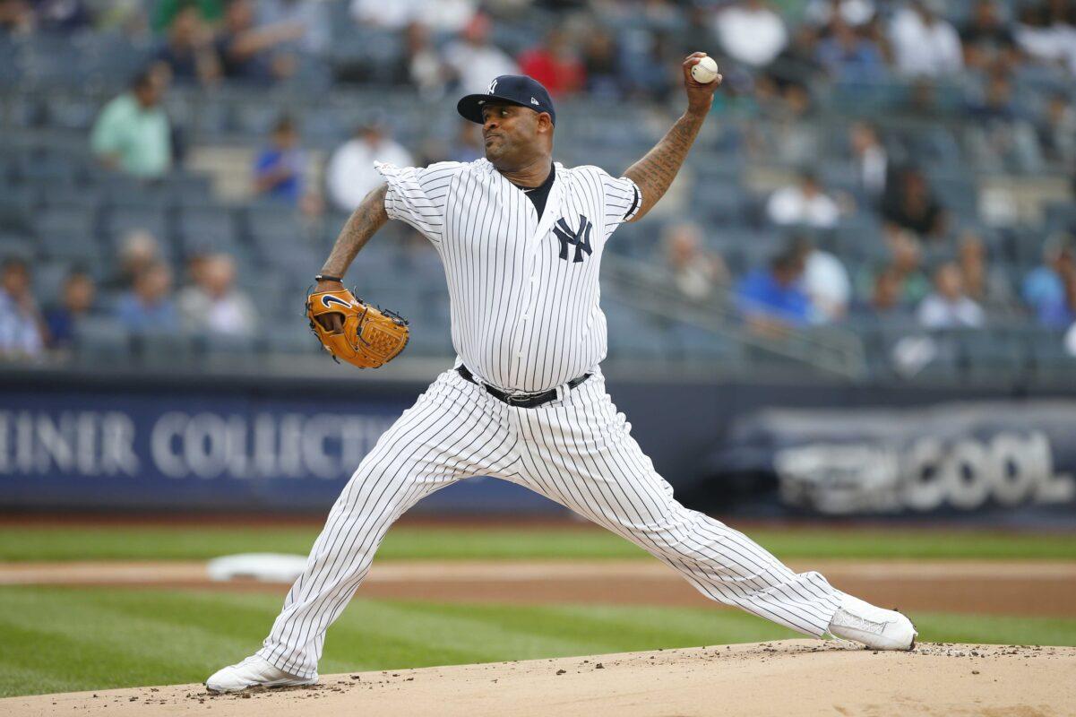 C C Sabathia NYY Pitcher