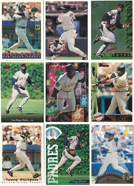 Tony Gwynn Cards 1995