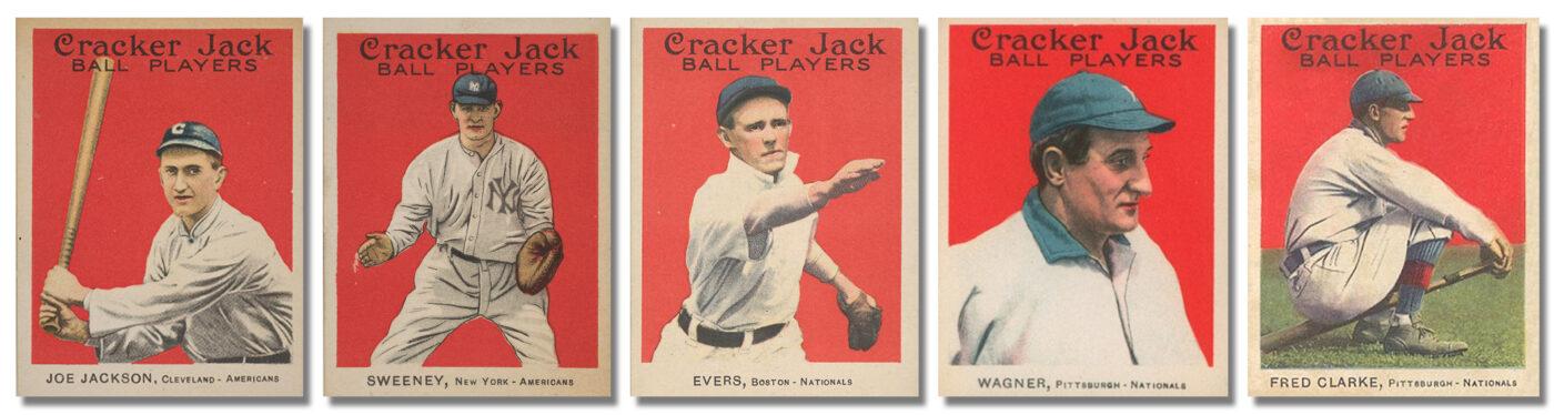 1915 Crackerjack Cards