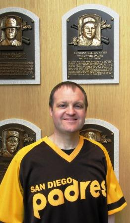 Me at the Hall of Fame