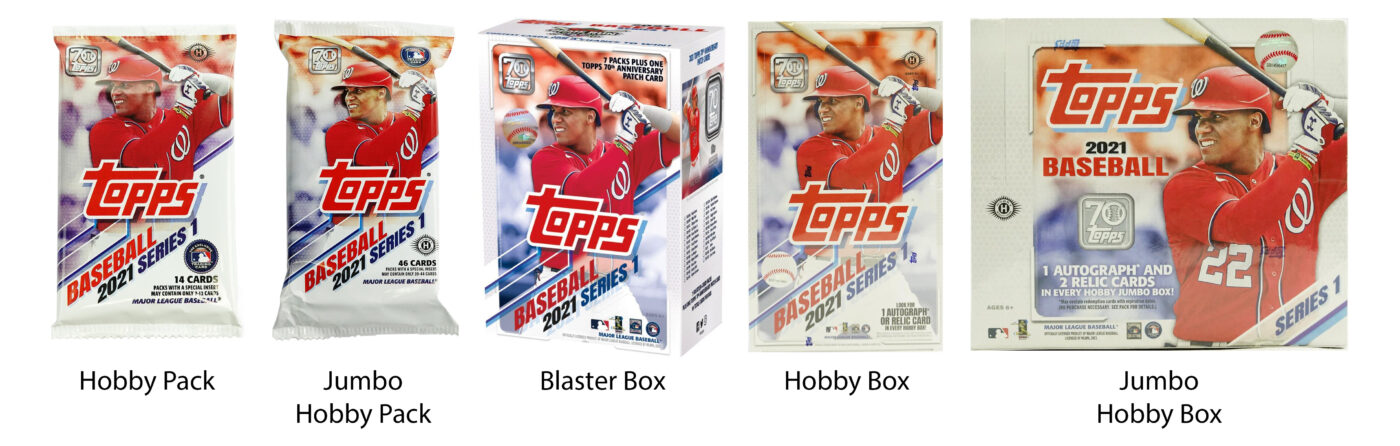 Topps 2021 Products